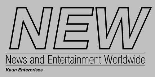 'NEW - News and Entertainment Worldwide' Logo by RobinLe