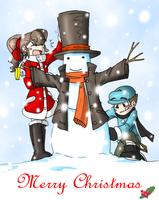 A Snow Gentleman by Inverted-Mind-Inc