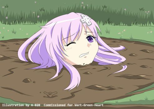 Nepgear in Quicksand 05 by A-020