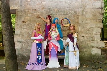 Zelda group by Minakosplay