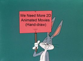 Bugs Bunny Holding Up A Sign Meme #0 by kouliousis
