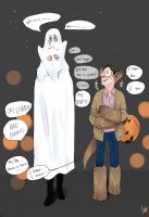 Person of Interest-Nathan/Will/Harold Halloween by monster3x