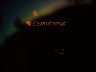 Dawn Chorus by HattTrick