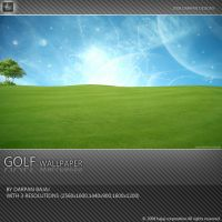 GOLF WALLPAPER by darpan-aero