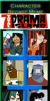 Character Recast Meme - Total Drama Island REDUX by Kitty-McGeeky97