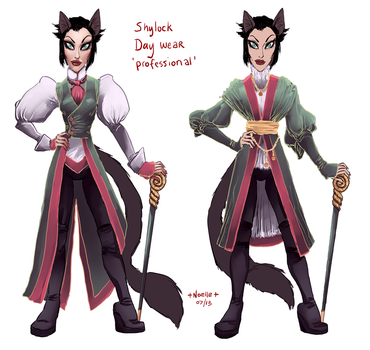 Shylock Outfits by quotidia