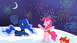 Happy New Year Everypony! by Ciupakabra
