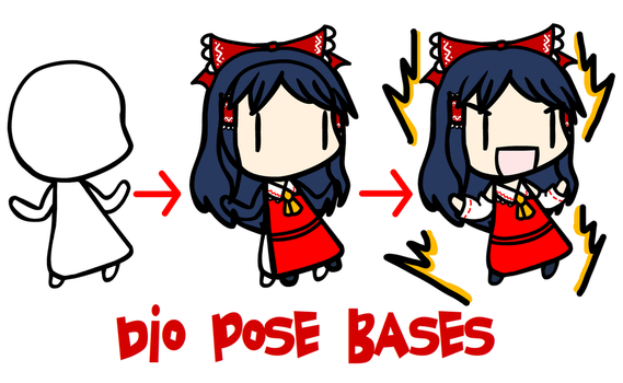 Walfas Custom Props: Dio Pose Bases by Tsukune429
