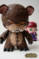 Tibbers and his Annie by OH-MisterLoki