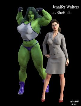 SheHulk by SinDD