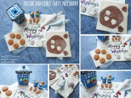 Doctor Who Cookie Party Prep Board by panda314159