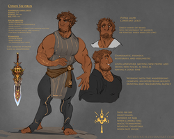 Cyros Ref Sheet 2016 by Aftertouch
