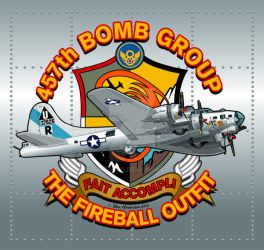 457th Bomb Group by yankeedog