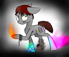Infamous: Second Son - PONY by Shira13