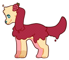 # Strawberry Jam Adopt: OFFER TO ADOPT * CLOSED * by Sorbaie
