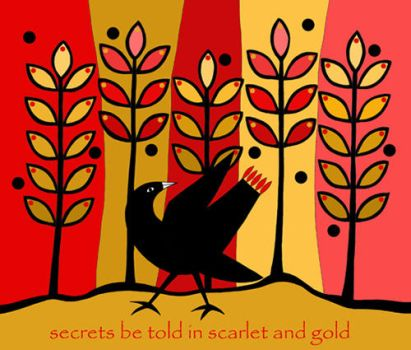 Scarlet And Gold by TootieFalootie