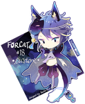 Custom Adopt: Forcat #18 for ErraticRhapsody by ToasterKiwi