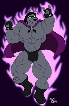 Buff Fantart Friday: Black Art Beagle by CaseyLJones