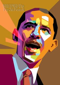 Obama in WPAP by wedhahai