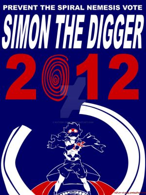 Simon 2012 - Campaign Poster by Rather-Cheesy