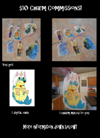 Charm Commissions Open by rexyplexy