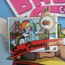 Pony Postcard Pin Series - San Franciscolt by SouthParkTaoist