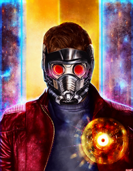 Star-Lord by p1xer