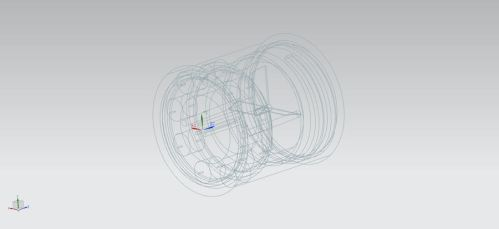 nozzle wireframe by clyde0o0o