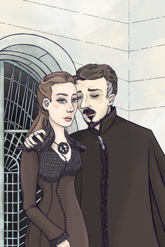Snowbirds (Petyr and Alayne) by SmudgeThistle