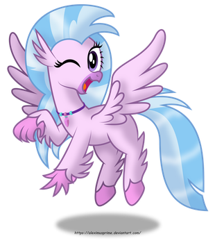 Silverstream (Hippogriff) by AleximusPrime
