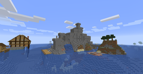 Island castle 2 by ColtCoyote