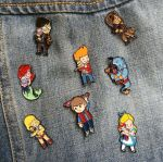 My pins :) by Naolito
