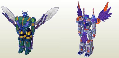 Transformers Earth Wars Pack 10 by PapercraftKing