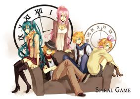 VOCALOID: Spiral Game by Lancha