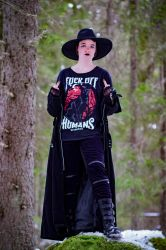 Casual Goth 7 by WiksPhotography