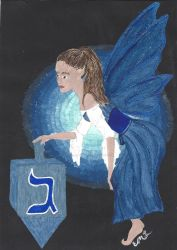 Hanukkah Fairy by EllieLieberman