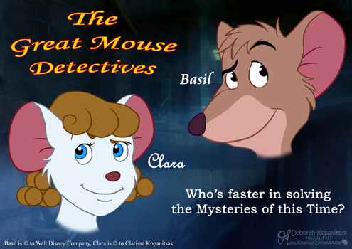 WD- The great Mouse Detectives by Kopanitsak