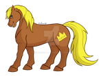 How I Draw Ponies Alaric (Royal Pain) (OC request) by horse14t