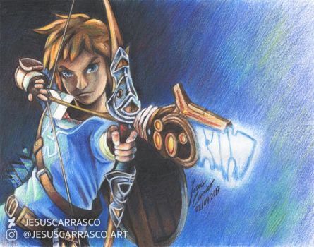 Breath of the colour pencils by PureAzuure