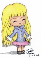 Another Chibi Girl by lekrissy