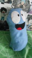 Bloo-plushie by Hukkis