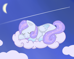 Cloudy-Dreamscape Commission by lawlaw06