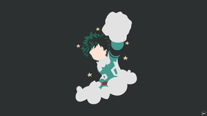 Izuku Midoriya {Boku no Hero Academia} by greenmapple17