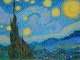 Starry Night by artbypaulfisher