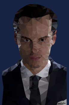 Moriarty Low Poly by cheekycollars