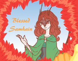 Blessed Samhain! by Chaos55t