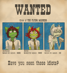 Wanted poster by evil-goma