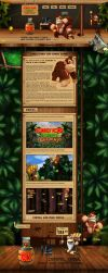 Hot Site Donkey Kong Country R by willxz