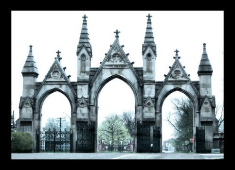 Cemetery Gates by Michon
