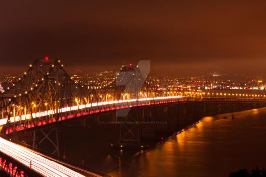 Bay Bridge San Francisco by P-LinsenerFotografie